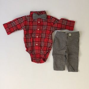 Three Piece Newborn Special Occasion Outfit